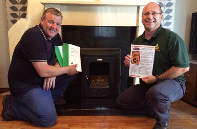 OFTEC welcomes Solid Fuel course
