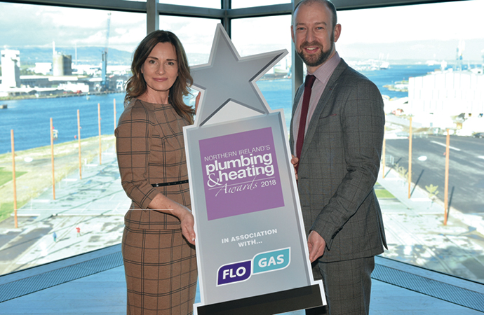 Flogas announced as principal sponsor of Northern Ireland's Plumbing & Heating Awards 2018