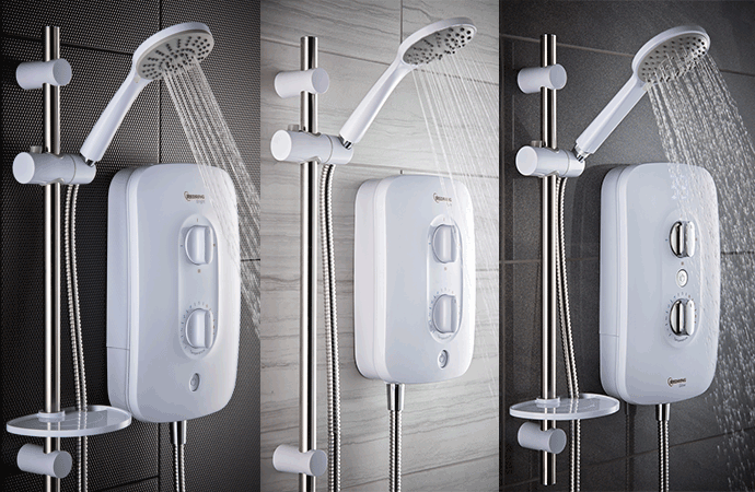 Redring launches radiant new electric shower range
