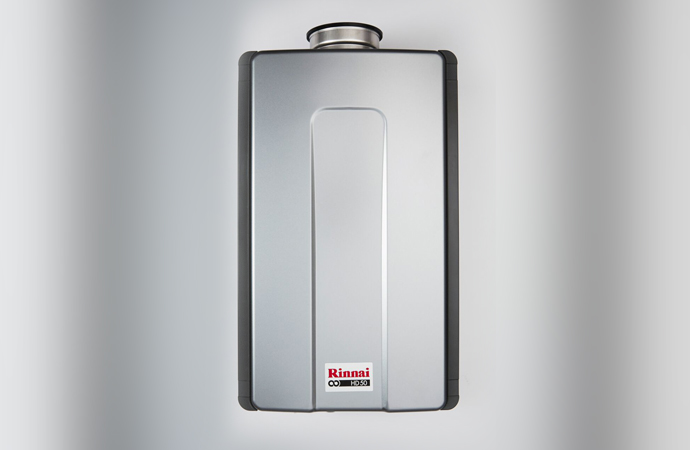 Complete package of combined heating and hot water systems from Rinnai