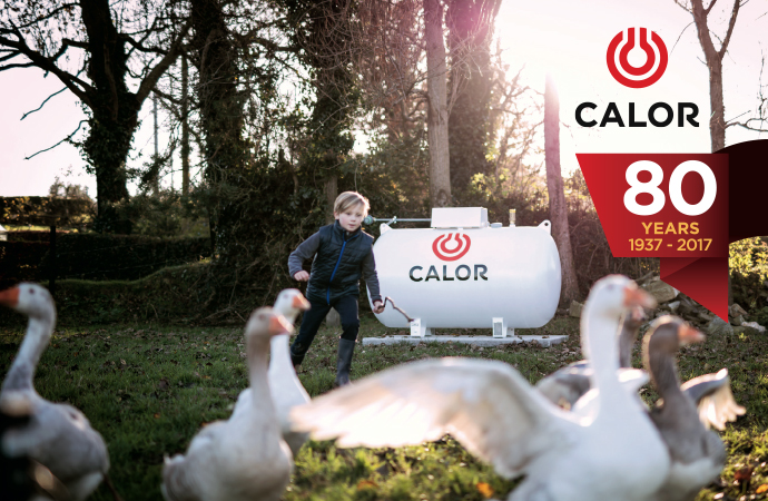 Calor celebrates 80 years at the heart of communities across Ireland