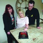 firmus energy welcomes first Ballyclare home-owner