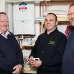 Top marks for John's 75th customer connection