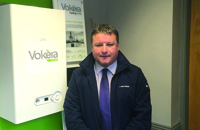 Vokèra appoints Mark Darcy as Area Sales Manager