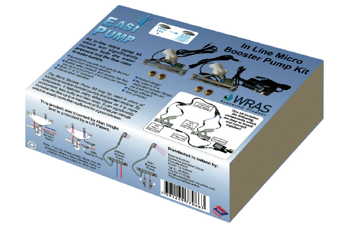 Introducing the Easi Pump  In Line Micro Booster Pump Kit