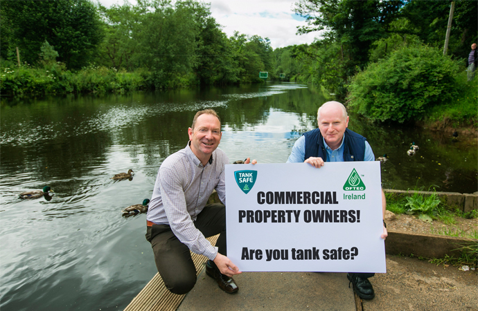 OFTEC and NI Environment Agency launch Oil Tank Safety campaign for businesses